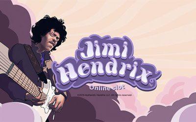 Jimi Hendrix spilleautomat